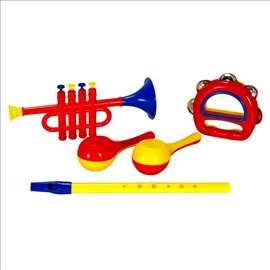 Set od 5 muzičkih instrumenata