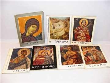 Umetnički spomenici u Jugoslaviji 8 knjiga