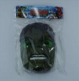 Hulk maska sa svetlosnim efektima