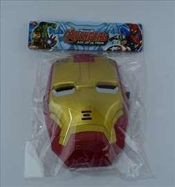 IronMan maska sa svetlosnim efektima