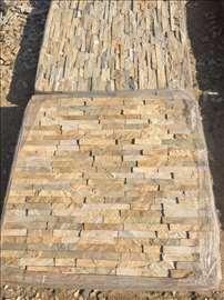 Prirodni kamen, Travertino, 3D paneli
