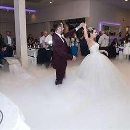 Suvi led, teški dim, prvi ples, kupola