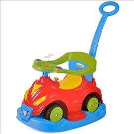 Automobil ljuljaška-šetalica za bebe 4u1