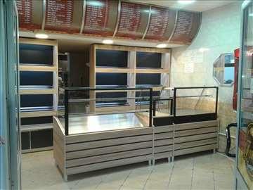 Tople vitrine za pekare, picerije..NOVO