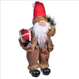 Figura Deda Mraza sa poklonima 40cm