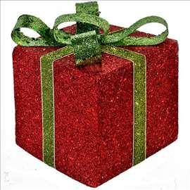 Novogodišnja ukrasna poklon kutija