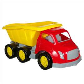Veliki kamion žute boje 58 cm