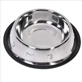 Metalna činija za pse