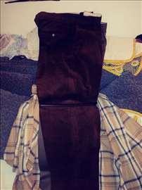 Muske pantalone somot pamuk farmerice nove