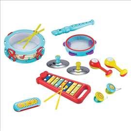 Muzički set igračaka - 15 kom