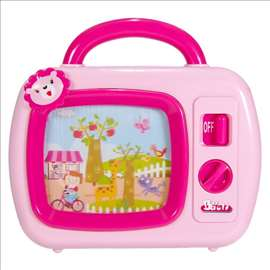 Bebi TV roze lavica