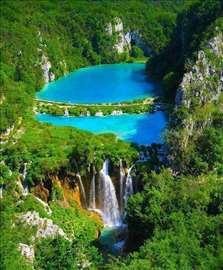 Hrvatska, Plitvička jezera, plac površine 50000m2
