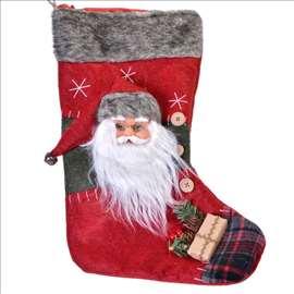 Novogodišnja čarapa - Deda Mraz