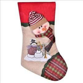 Novogodišnja ukrasna čarapa - Sneško Belić