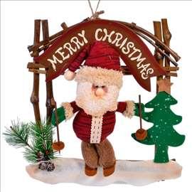 Novogodišnji ukras - Deda mraz, 25x30