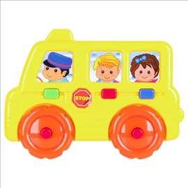 Školski autobus - ekukativna igračka