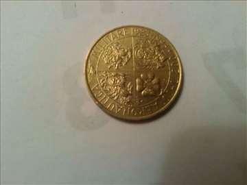 kovanice , italija , ceska , 1993 god , [ unc ]