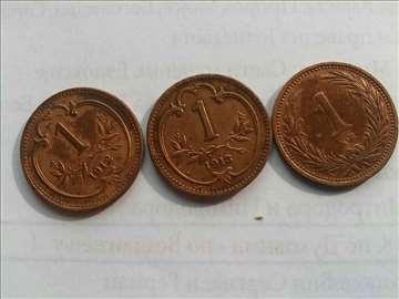 lot kovanica , madjarska , 3 kom, [ xf ]