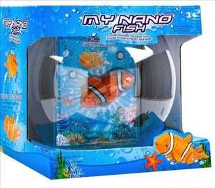 Ribica koja pliva - narandžasta
