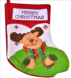 Ukrasna novogodišnja čarapa - Irvas