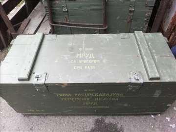 Drveni vojni sanduk MRUD-