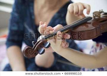 Nastavnica violine muzičke škole