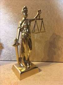 Mesing - livena figura boginja pravde 20 cm