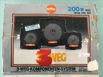 Zvučnici Elta, uvoz Švajcarska