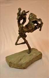 DUŠAN RAJŠIĆ-Skulptura-Dve kozice