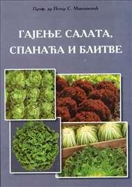 Gajenje salata, spanaća i blitve-Maksimović