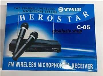Bezicni mikrofoni i risiver