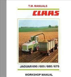 Claas Jaguar 675 - 680 -685 - 690 Radionički