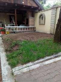 Uređenje dvorišta Aki