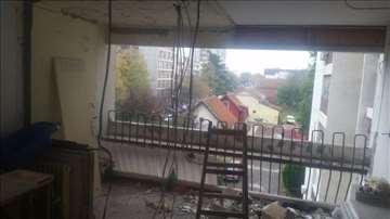 Rušenje stanova,priprema za adaptaciju,odvoz šuta