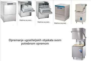 Mašine za suđe, posuđe, čaše