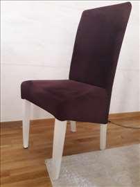 Prodajem trpezarijske stolice, 4 kom.