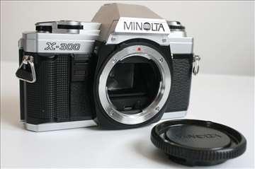 Minolta X-300 telo