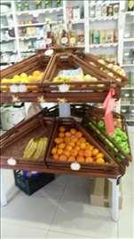 Vitrina za  voće i povrće