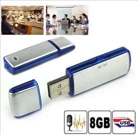 Prisluškivač audio USB 8GB diktafon, audio prislus