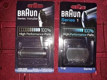 Mrežice za Braun aparate 10B i 11B