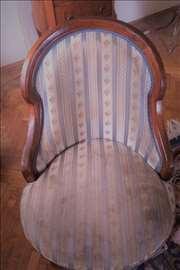 Stilske fotellje stil Bidermajer - 4 fotelje