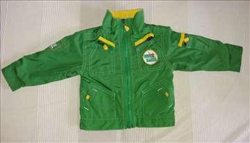 Zelena jakna za bebu 62-68