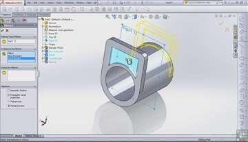 Modeliranje u SolidWorks-u i AutoCad-u