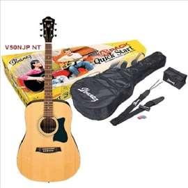 Ibanez V50 NJP - NT pack gitarski paket
