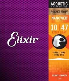 Elixir 16002 Nanoweb žice za akustičnu gitaru