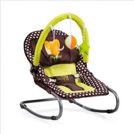 Ležaljka za bebe braon