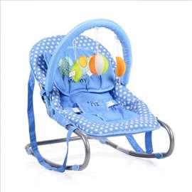 Ležaljka za bebe plava