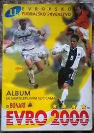 Euro 2000. Bonart. Album sa sličicama, kompletiran