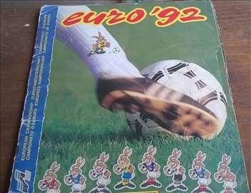 Euro 92, album sa sličicama, popunjen