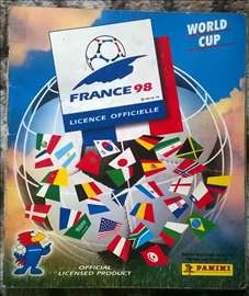 France 98. PANINI album sa slicicama.